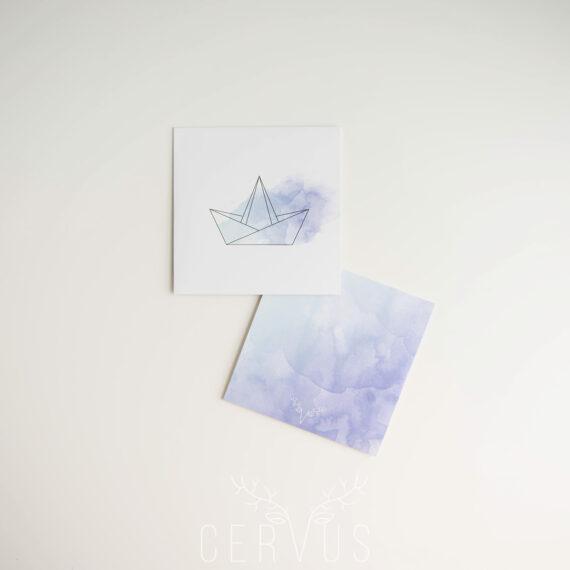 Błękitna koperta na płytę Błękitne Sny