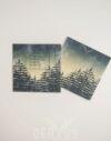 Koperta na płytę DVD Las Forest Fog