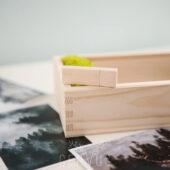 Pendrive drewniany naturalny