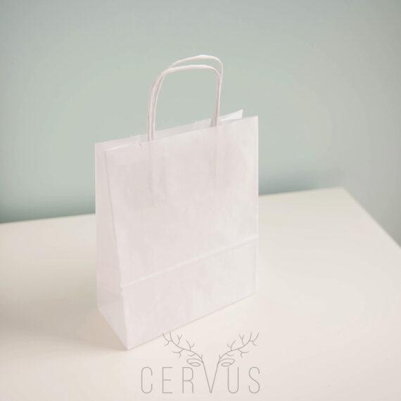 Torba biała papierowa