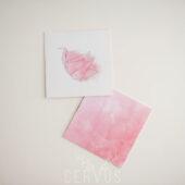 różowa koperta na płytę różowe sny
