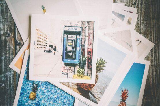 wydrukowane zdjęcia