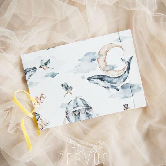 Album na zdjęcia 20x30 Wieloryby Cervus