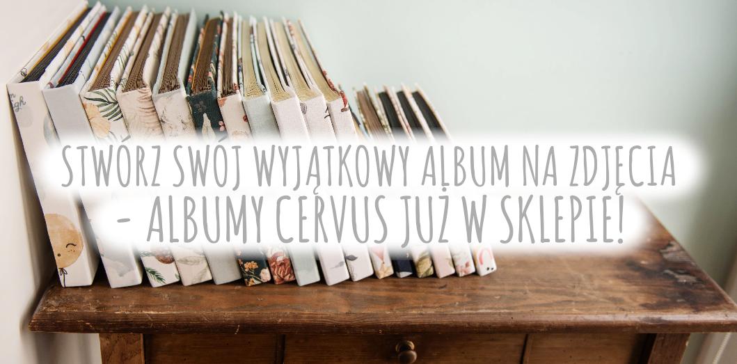 Ręcznie robione albumy na zdjęcia wklejane Albumy Cervus cervus-shop.pl