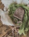 czapeczka do sesji noworodkowej, czapeczka dla noworodka - cervus-shop.pl